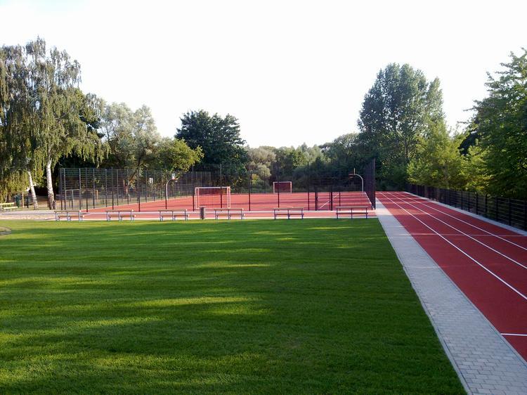 """Sportplatz Liebenwalde Schule """"Am Weinberg"""", 2010"""